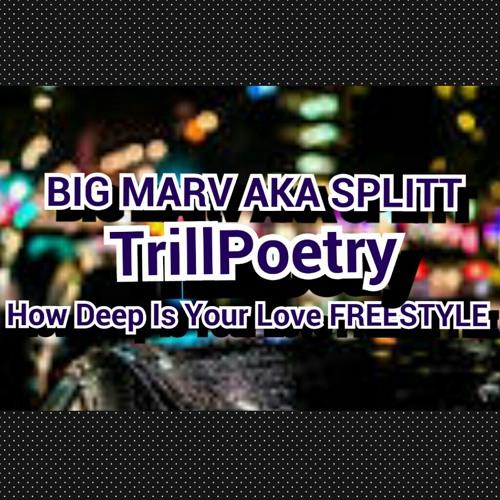 BIG MARV AKA SPLITT-TrillPoetry(HowDeepIsYourLove Freestyle)