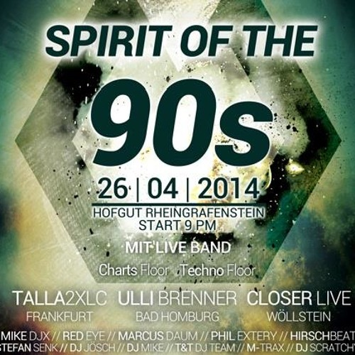Spirit of the 90s 2014 Live Mix by MIKE DJX