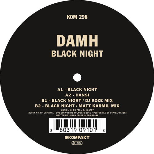 DAMH - Black Night EP
