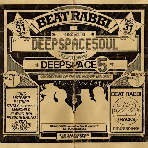 "Beat Rabbi & Deepspace5 ""DeepSpaceSoul: DJ Aslan Take 5 mix"""