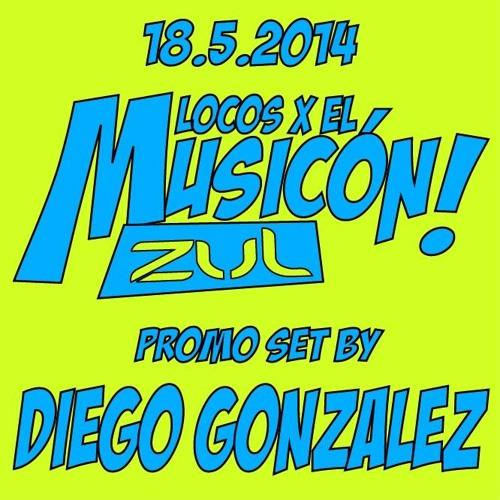 DIEGO GONZALEZ . Locos X El Musicon 2014