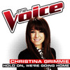 Christina Grimmie - Hold On, We're Going Home (The Voice Performance)
