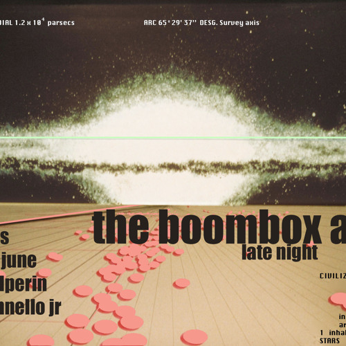 the boombox affair house party - april 26 2014