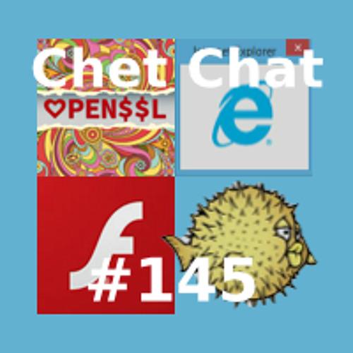 Chet Chat 145 - Apr 29, 2014