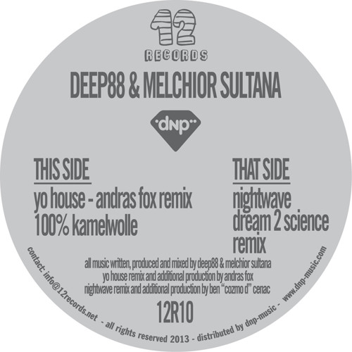 Deep88 & Melchior Sultana - 100% Kamelwolle