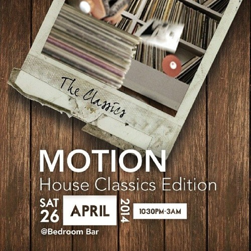 DJ Knowledge Live at Motion: House Classics Edition