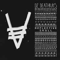 DZ Deathrays Reflective Skull Artwork