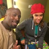 Me Interviewing female reggae sensation Kelissa in Amsterdam 2014