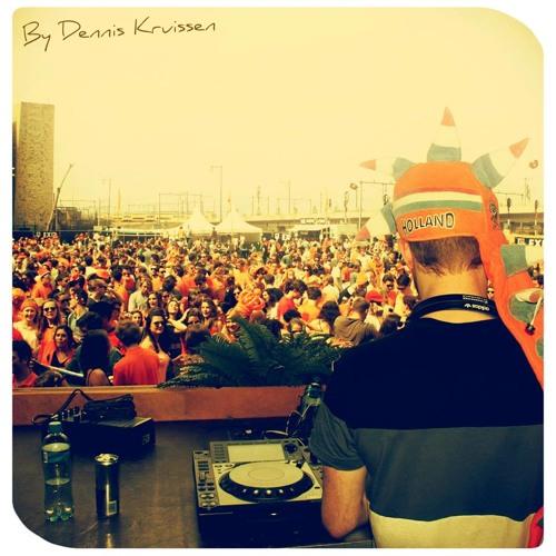 Dennis Kruissen Live @ Kingsday Open Air // 26-4-2014
