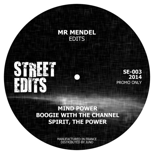 Mind Power (Mr Mendel edit) *out on vinyl*