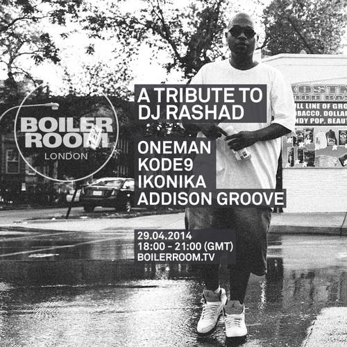 Addison Groove Dj Rashad Tribute Boiler Room DJ Set