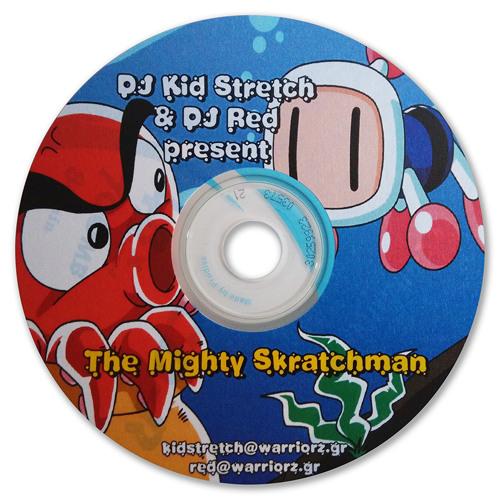Dj Kid Stretch Amp Dj Red Present The Mighty Skratchman By