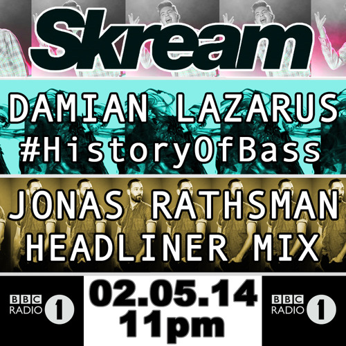 SKREAM | 02 MAY, 11PM (UK time)