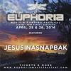 JESUSINASNAPBAK At Euphoria Music Festival (Austin, TX) 4/28/14