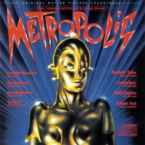 Giorgio Moroder - Machines [Metropolis] (1984)