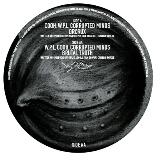 W.P.L, COOH, Corrupted Minds - Brutal Truth -  OUT NOW