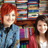 Keeping the Faith- a nine year old who loves reading, and a 22 year old who hates kindles.