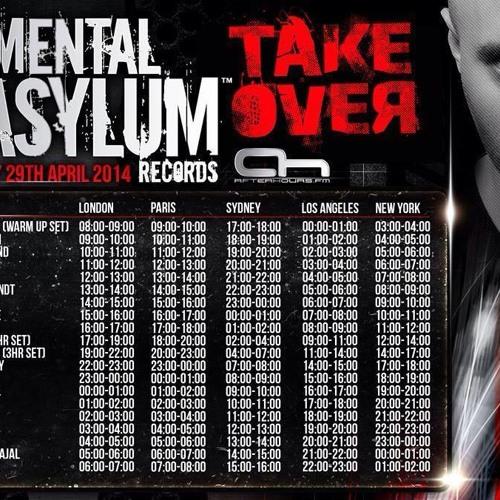 Eddie Bitar - Guest mix for Mental Asylum on AHFM - 29.04.14