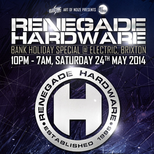 Cern & EBK - Live @ Hardware 19th Anniversary - Electric 2014