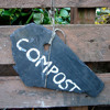 How to make compost without fall leaves