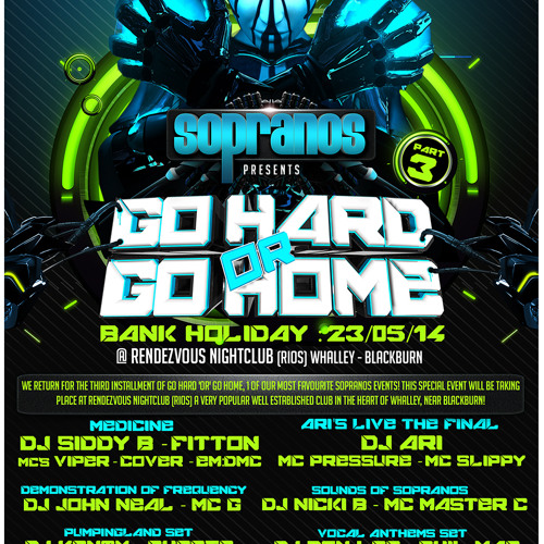 Infected Bounce Promo Mix | Sopranos Go HARD 'or' Go HOME Part 3