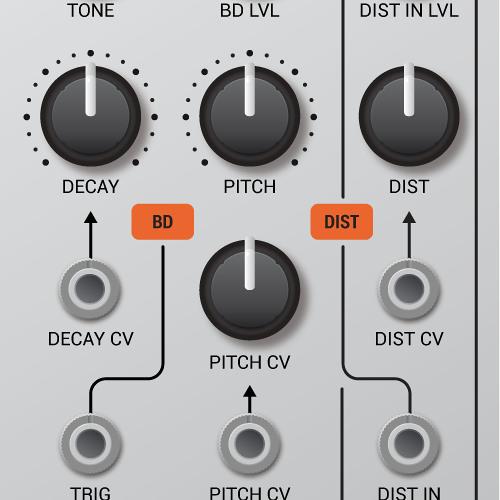 Mutant Bassdrum audio demo 1: bassdrum bassline