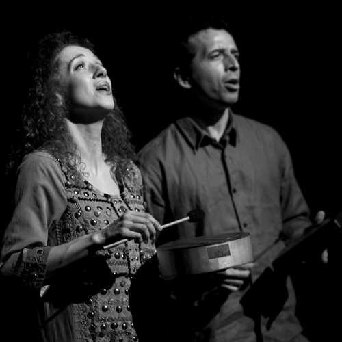 Luna Monti & Juan Quintero en La Sebastiana 11 Octubre 2013