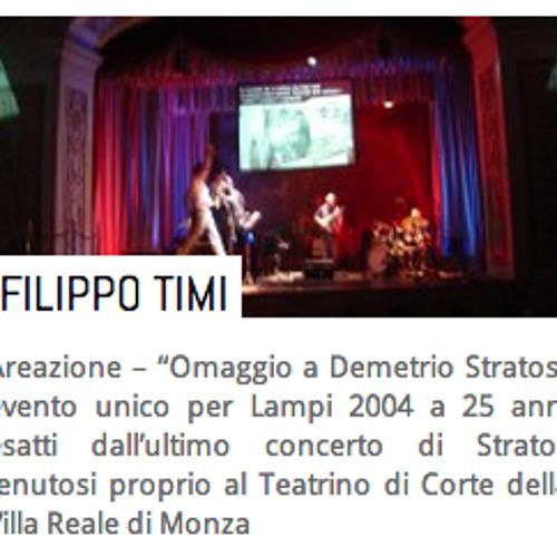 Filippo Timi   Abbiamo perso Demetrio * live in Lampi 2004