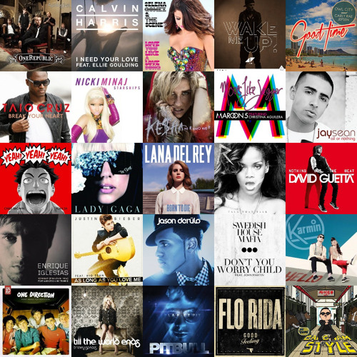 [Mashup] 30+ Hit Songs from 2007-2014