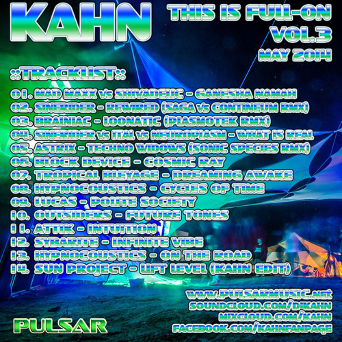 KAHN - This Is Full-On Vol.3 - May 2014