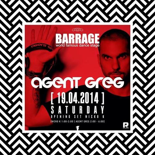 Agent Greg at Barrage(Zakynthos) 19 April 2014