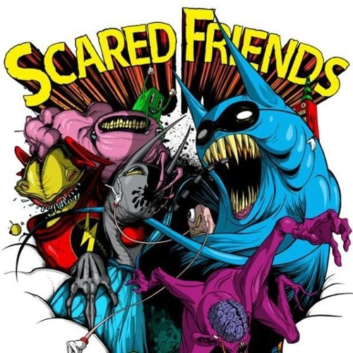 Scared Friends Collab with Meowington