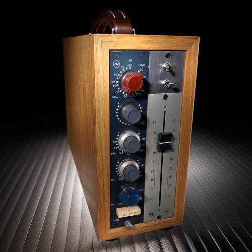 Drum Overheads—Neve 1073 Punched-up