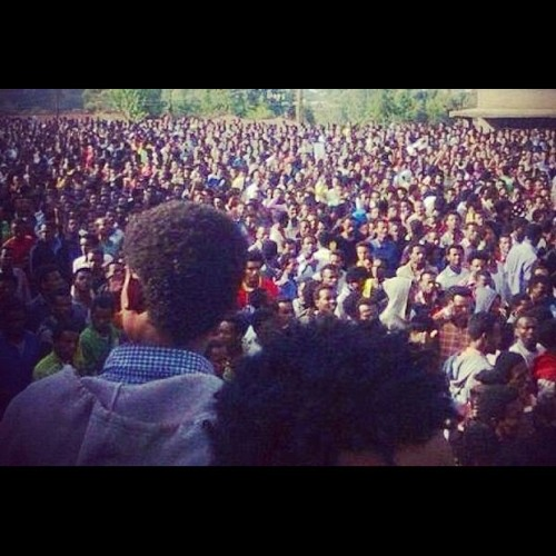 Ethiopia's Oromo students fight for land rights