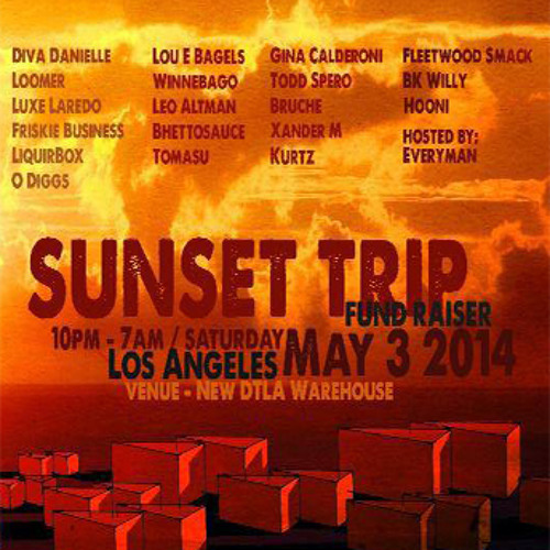 Live at Sunset Trip Fundraiser 5-3-14  FREE DL 320 MP3