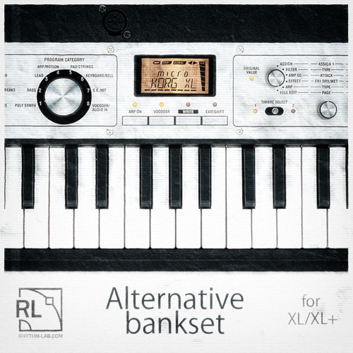 Microkorg XL/XL+ Alternative Bankset Demo