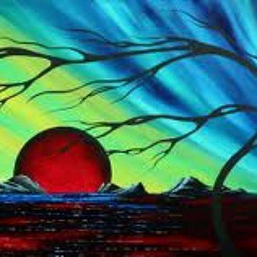 Blood Red Moon - David McWilliams & My Hot air Balloon