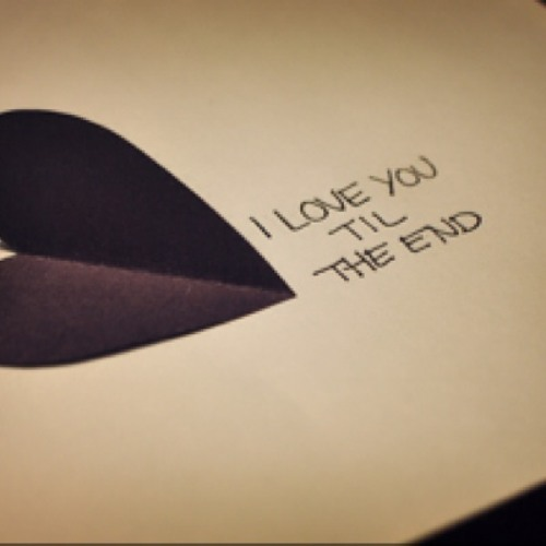 Love You Till The End (Pogues Cover)