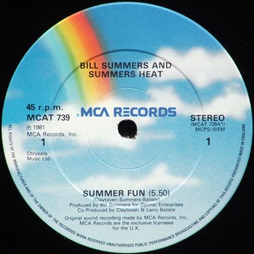 Bill Summers & Summers Heat - Summer Fun (Mayfield Edit)