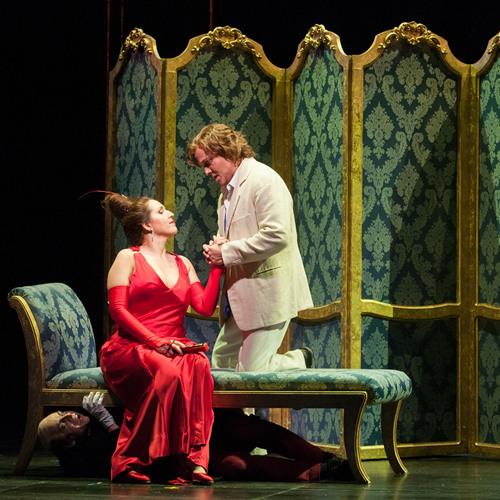 Seattle Opera TALES OF HOFFMANN: WILLIAM BURDEN as Hoffmann