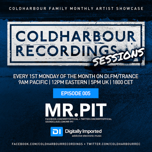 Coldharbour Sessions 005: Mr. Pit (May 2014)