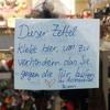 Kieznotiz - Ladentür - Dieter Meier (Yello)