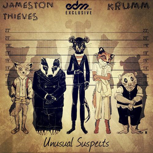 Jameston Thieves & Krumm - Unusual Suspects [EDM.com Exclusive]