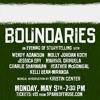 Boundaries - May 5, 2014 - Musical Intro - Kristin Center