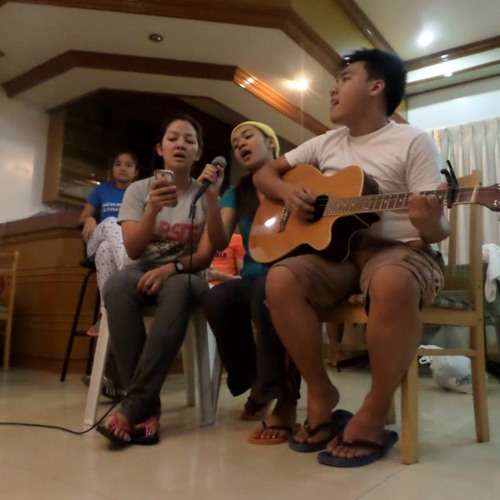 Counting Stars - One Republic (Kimberly Araneta feat. Steven Go and  Cluttille Ricopuerto)