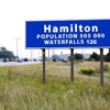 The city will spend $230K to put up a gateway sign at Highways 6 and 403, but some say it's too high
