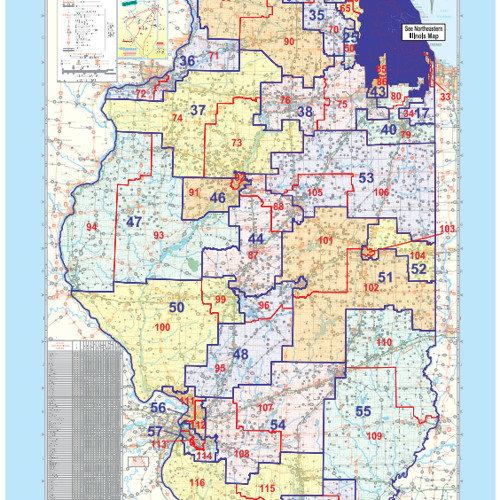 The battle over how Illinois legislative district are drawn heats up