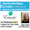 Go For Gold Part 1 Wellness Warrior Workshop With Angie Levine 05 - 07 - 14