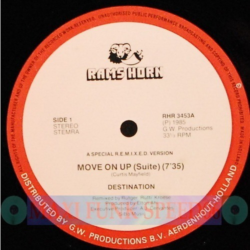 Destination - Move On Up - Re Touch