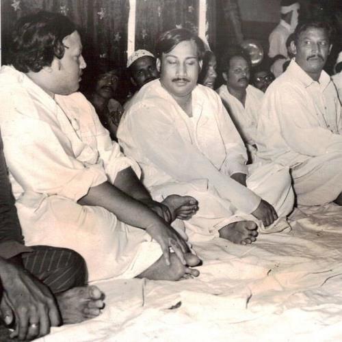 Likh Diya Apne Dar Pe Kisi Ne - Nusrat Fateh Ali Khan 1970's